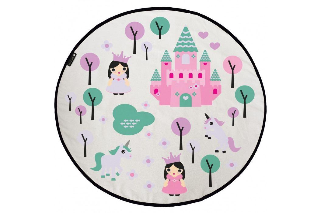 Butter Kings Dětská hrací podložka Pink kingdom, 130 cm