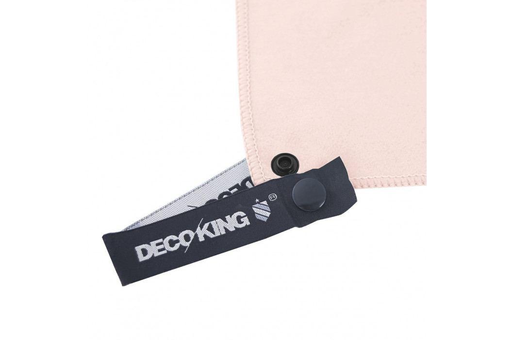DecoKing Fitness Ručník Ekea růžová, 40 x 80 cm
