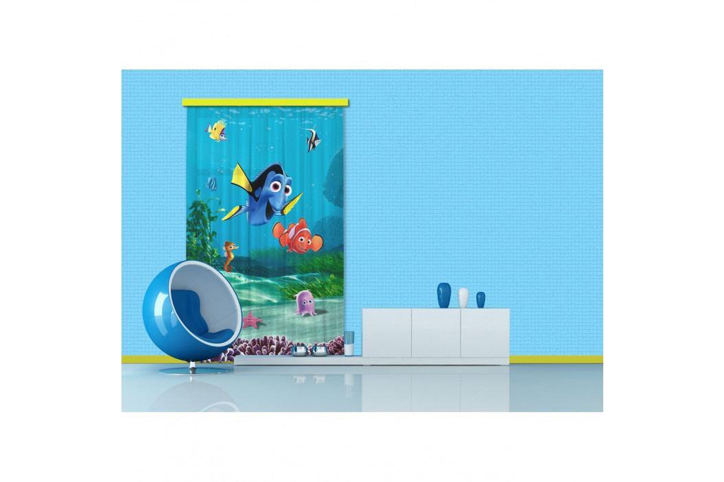 AG ART Dětský závěs Hledá se Nemo, 140 x 245 cm