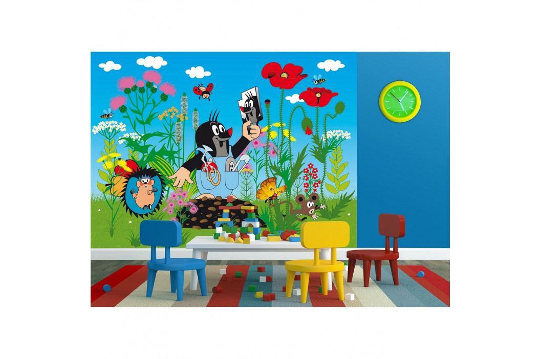 AG Art Dětská fototapeta XXL Krteček, 360 x 270 cm, 4 díly