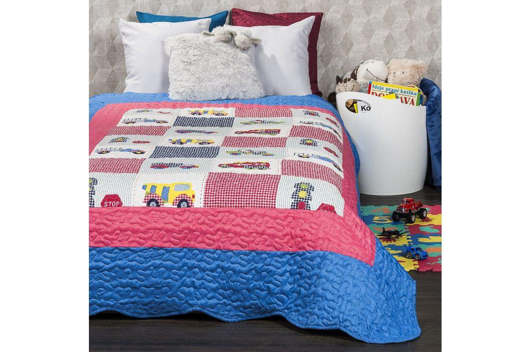 4Home Dětský přehoz na postel Cars, 140 x 200 cm