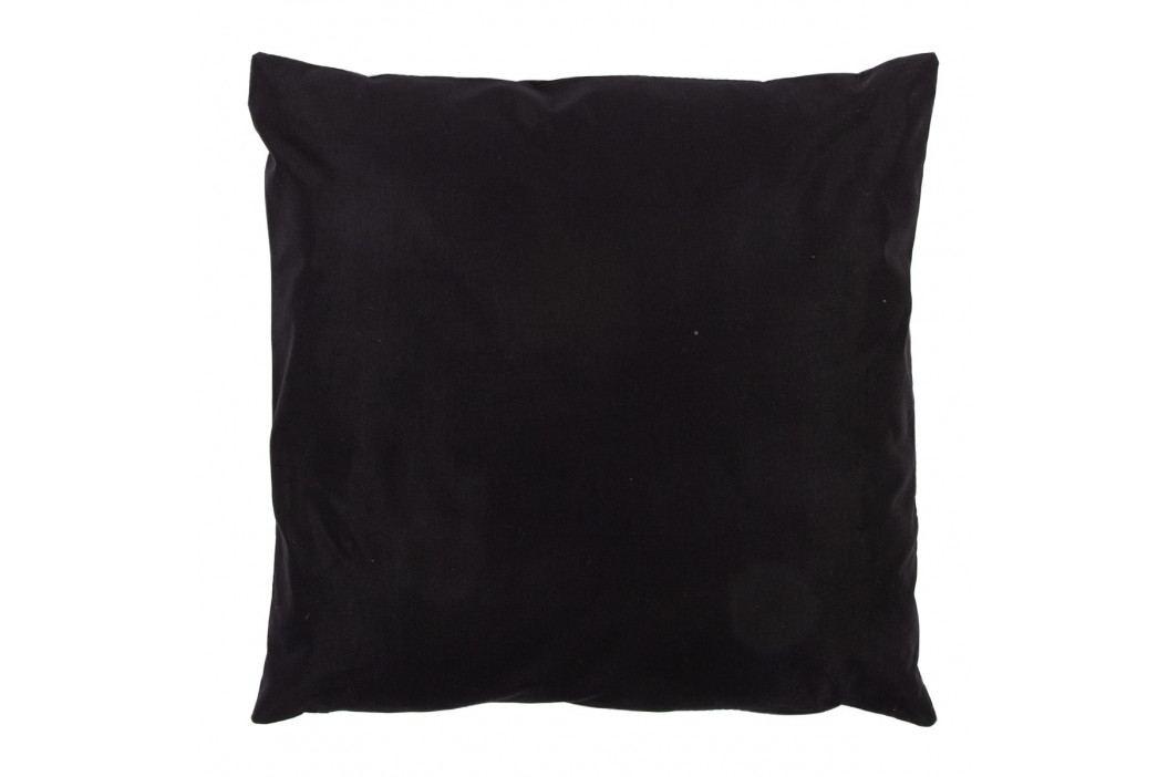 JAHU Polštářek Gold De Lux Kotva černá, 43 x 43 cm