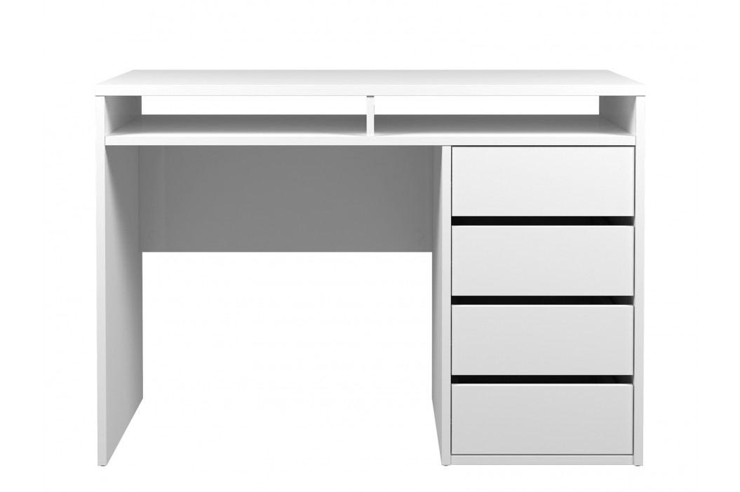 PC stolek - Famm - 80157 (lesk bílý)