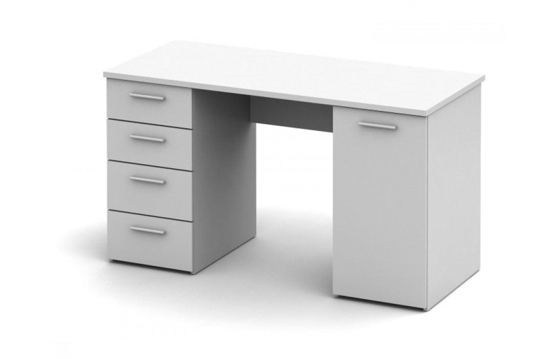 PC stolek - Eustach (bílá)
