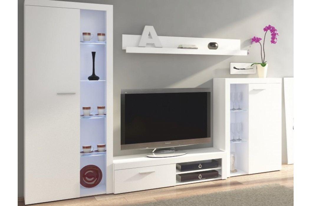 Obývací stěna - Rochester (bílá)