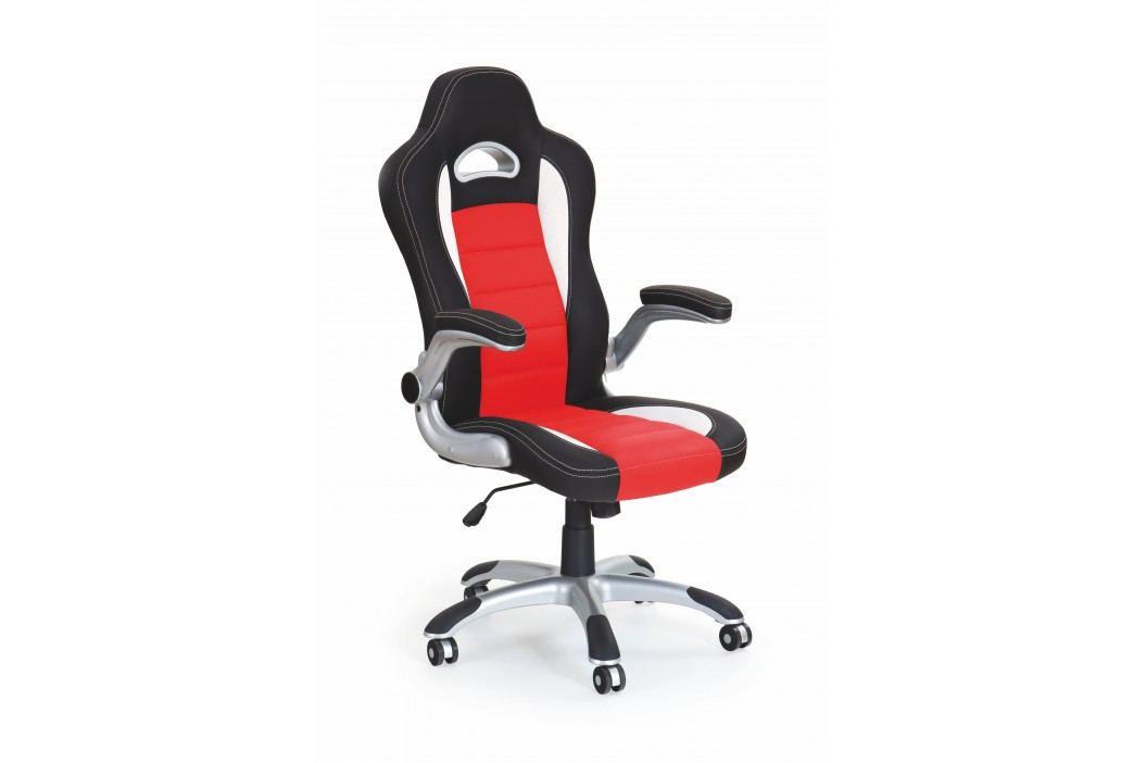 Kancelářské křeslo - - Lotus (černá + červená)
