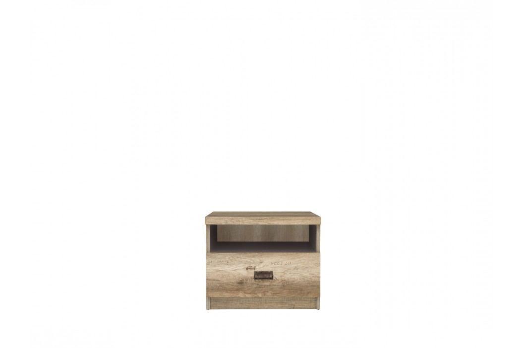 Noční stolek - BRW - Malcolm - KOM1S
