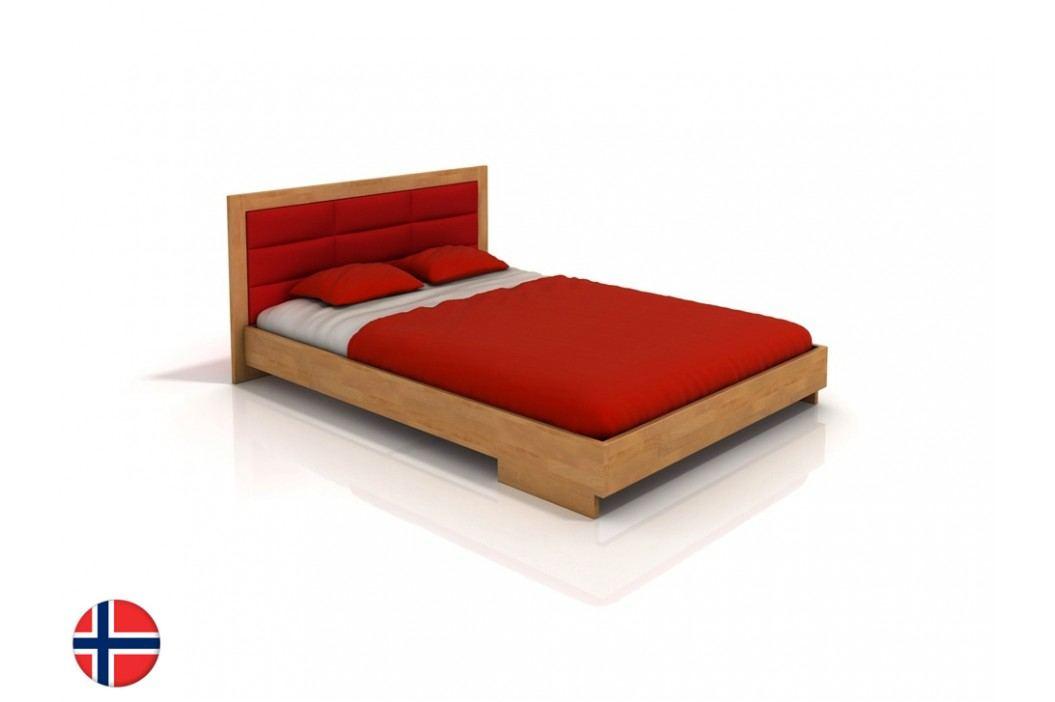 Manželská postel 180 cm - Naturlig - Stjernen (buk) (s roštem)
