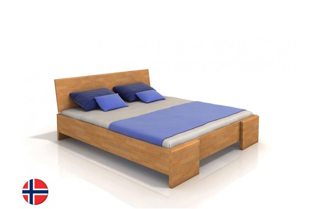 Manželská postel 200 cm - Naturlig - Blomst High BC (buk) (s roštem)