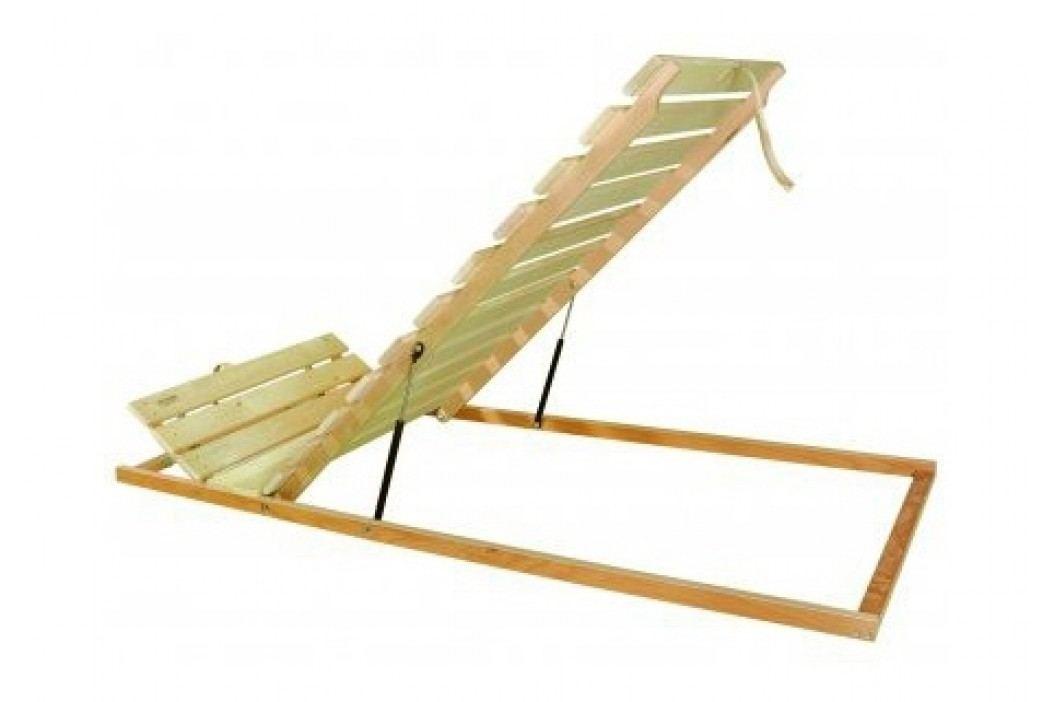 Laťkový rošt - 195x80 cm - Styler - Masív H Výklop nohy - Písty