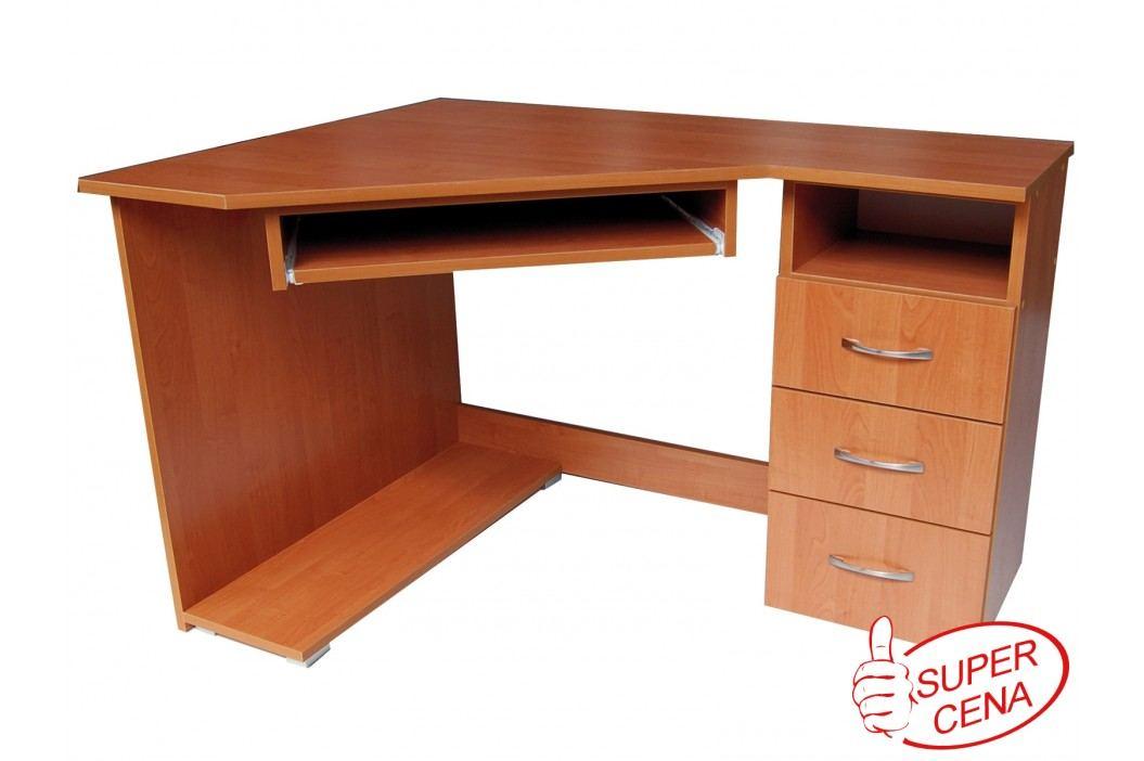Rohový PC stolek - WIP-GK - Promo 8 P