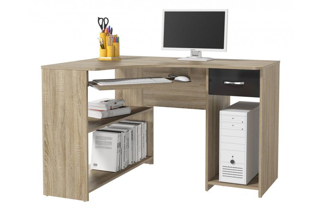 Rohový PC stolek - Famm - Modul P1DS0M14