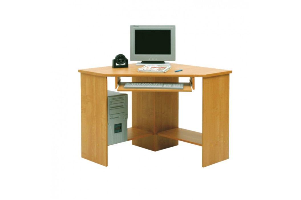 Rohový PC stolek - B3 buk