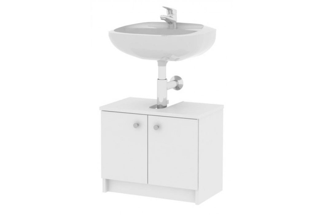 Koupelnová skříňka pod umyvadlo - Galena - Si02 2D bílá