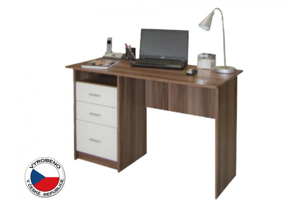 PC stolek - Samson Švestka + Bílá