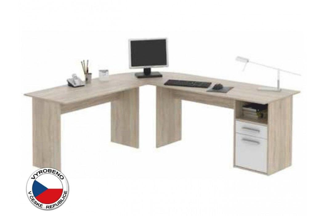 Rohový PC stolek - Maurus - MA11