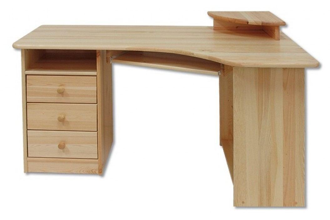 Rohový PC stolek - Drewmax - BR 105