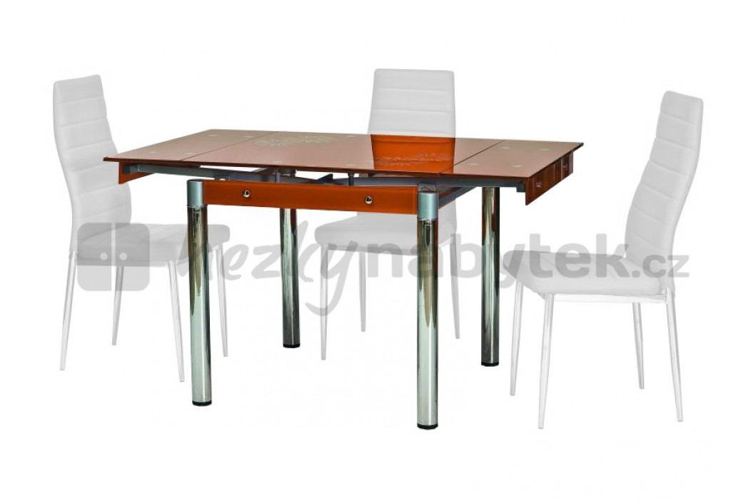 Jídelní stůl - Signal - GD-082 oranžový (pro 4 osoby)