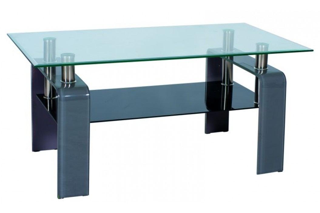 Konferenční stolek - Signal - Stella šedý