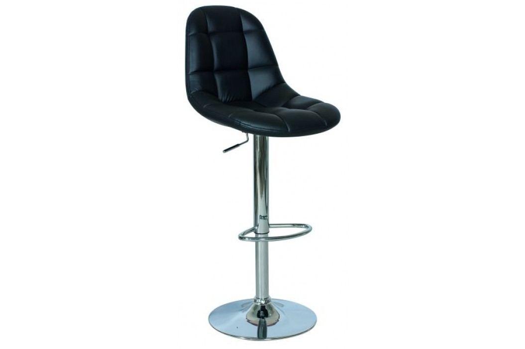 Barová židle - Signal - C-198 černá