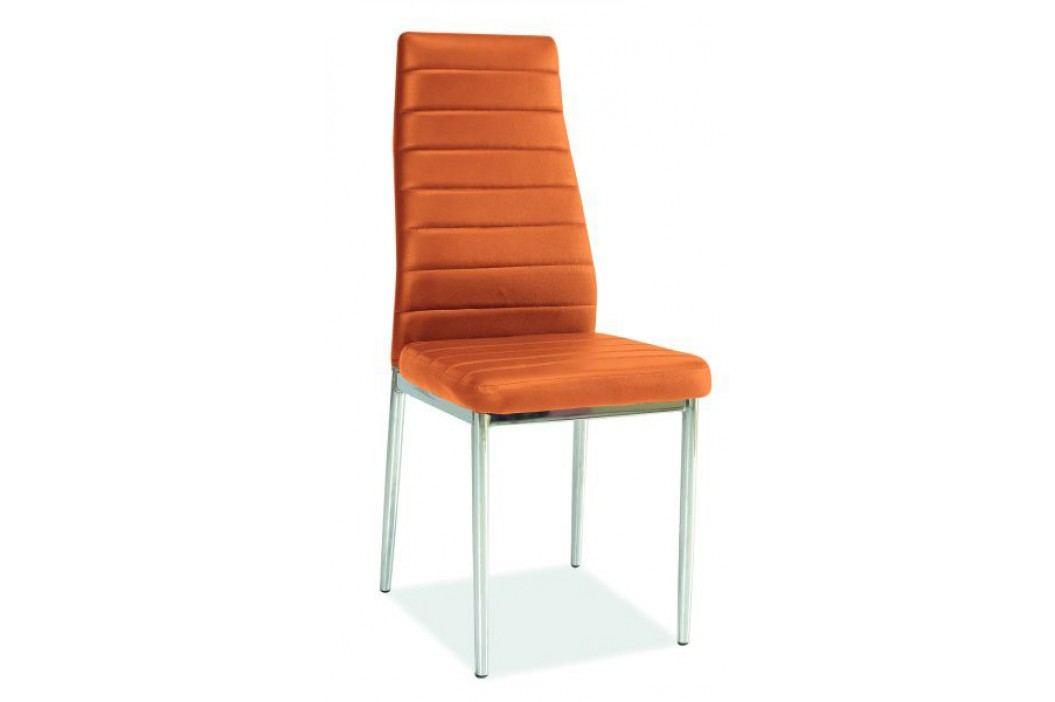 Jídelní židle - Signal - H-261 oranžová