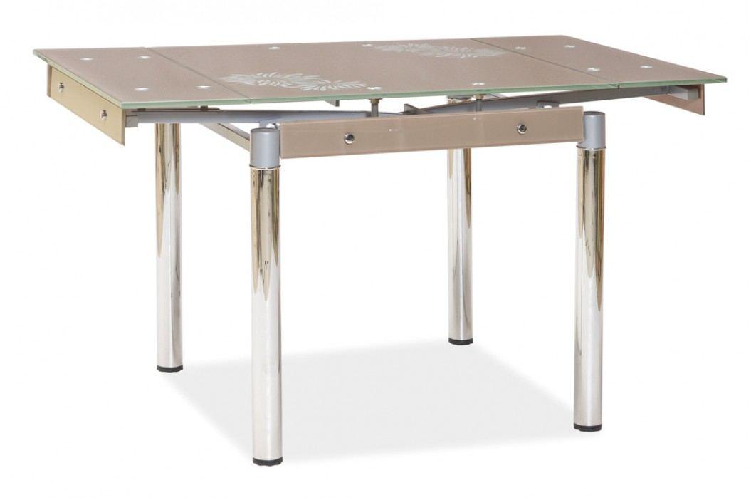 Jídelní stůl - Signal - GD-082 béžový (pro 4 osoby)