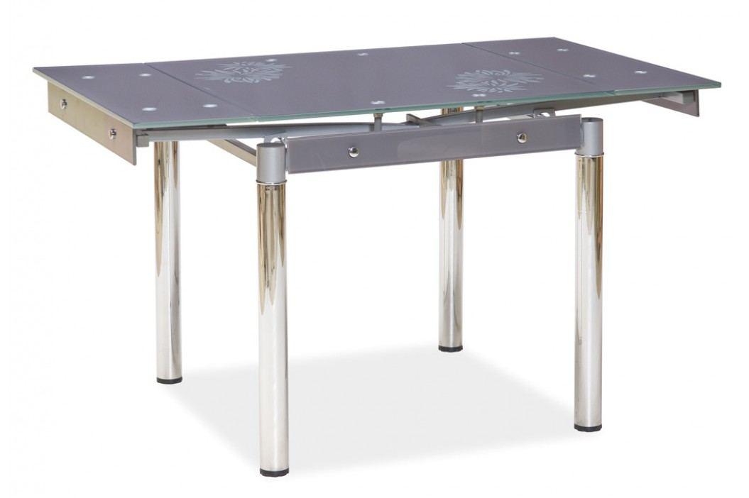 Jídelní stůl - Signal - GD-082 šedý (pro 4 osoby)