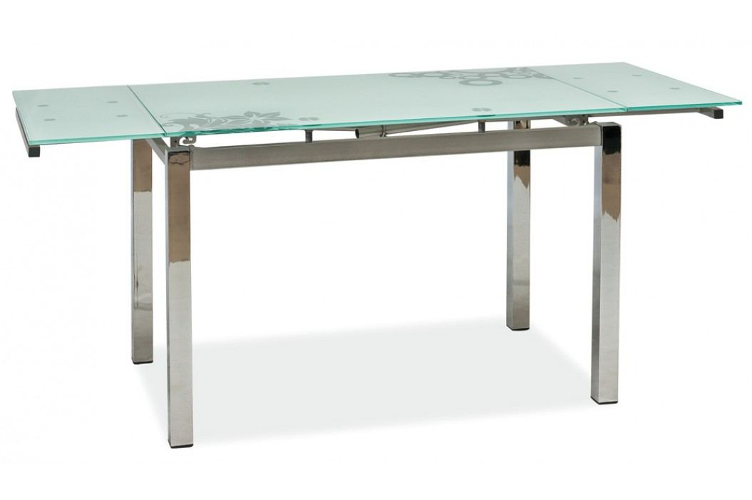 Jídelní stůl - Signal - GD-017 bílý (pro 4 až 6 osob)
