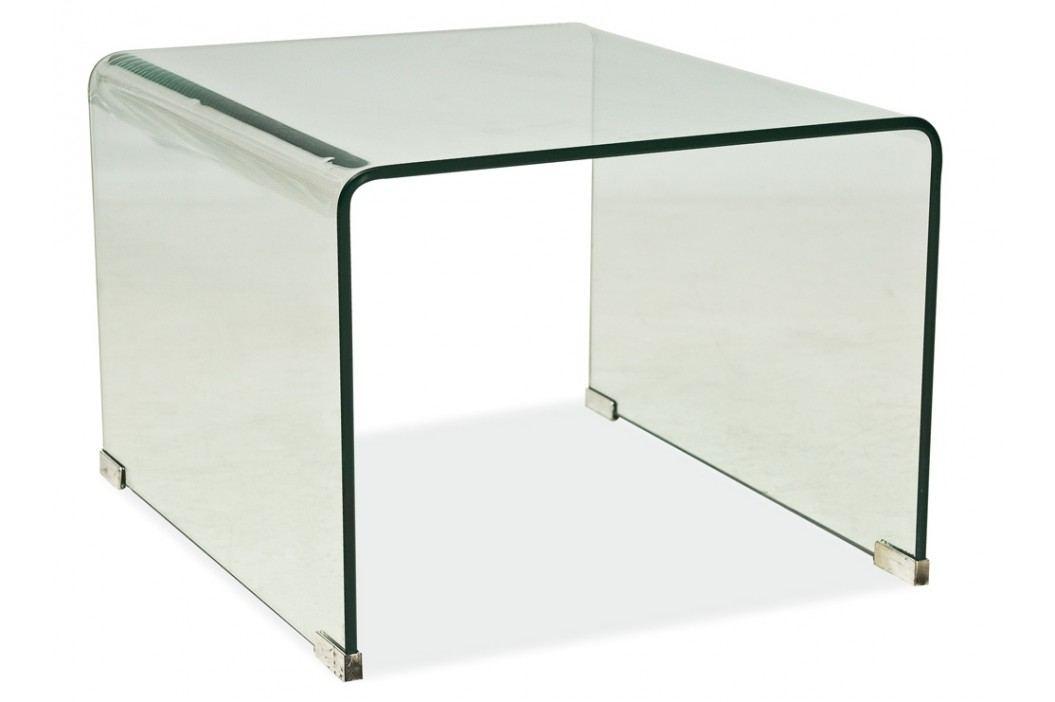 Konferenční stolek - Signal - Priam B bílý