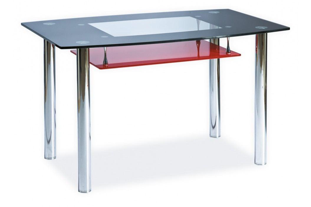 Jídelní stůl - Signal - Twist A červený (pro 4 osoby)