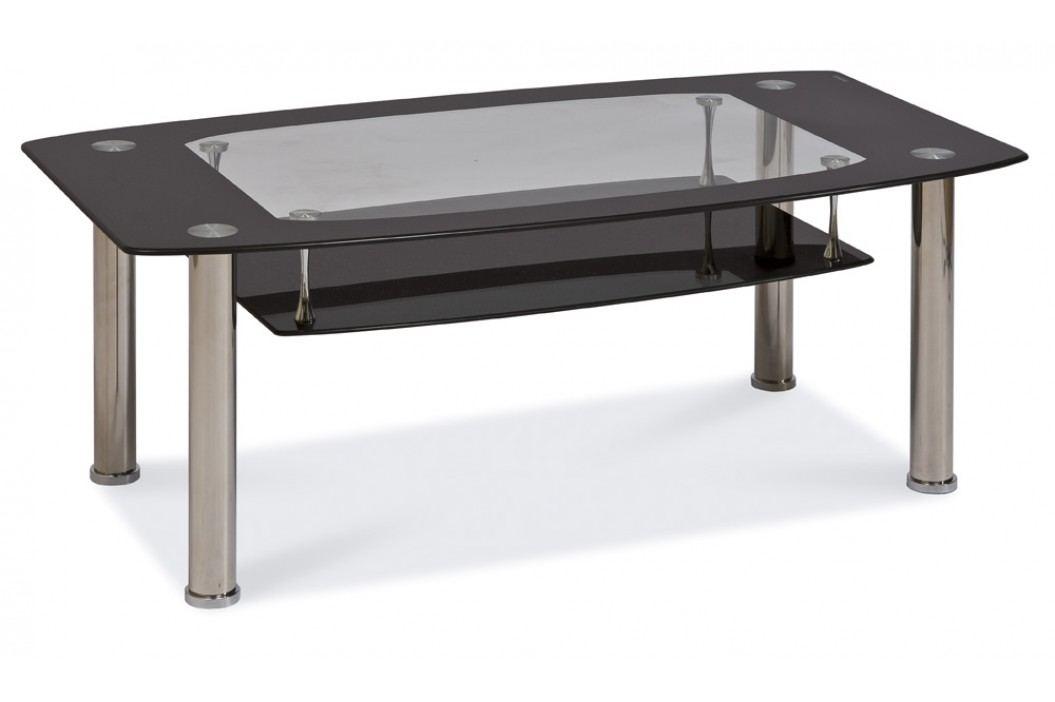 Konferenční stolek - Signal - Twist C černý