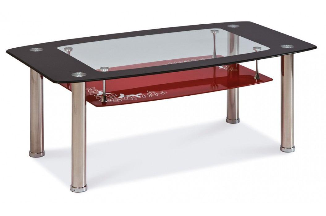 Konferenční stolek - Signal - Twist C červený