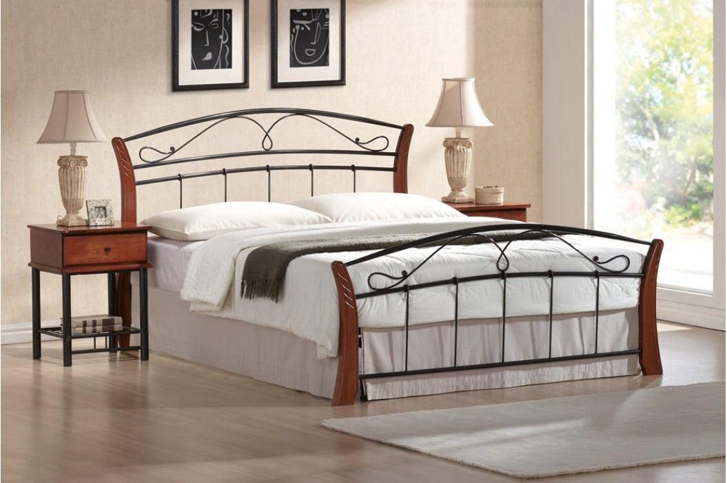 Manželská postel 160 cm - Signal - Atlanta A (s roštem)