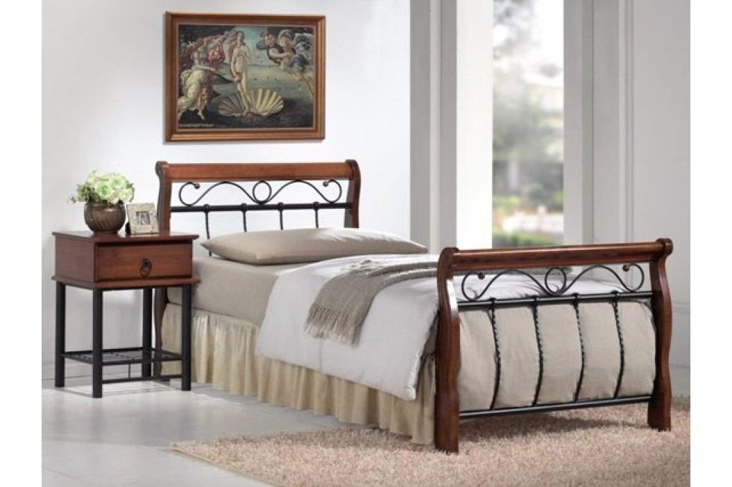 Jednolůžková postel 90 cm - Signal - Venecja A (s roštem)