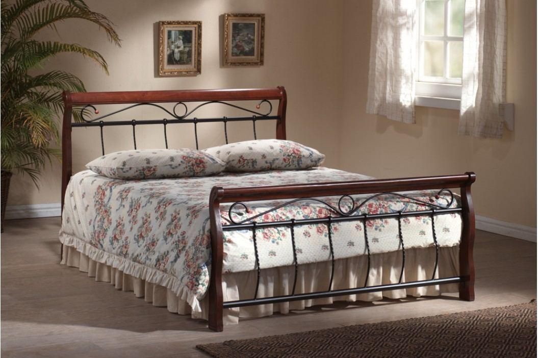 Manželská postel 140 cm - Signal - Venecja B (s roštem)