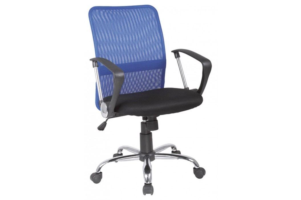 Kancelářska židle - Signal - Q-078 modrá + černá