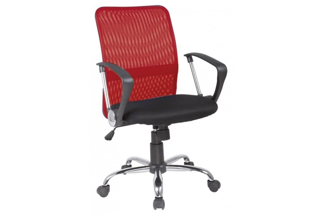 Kancelářska židle - Signal - Q-078 červená + černá