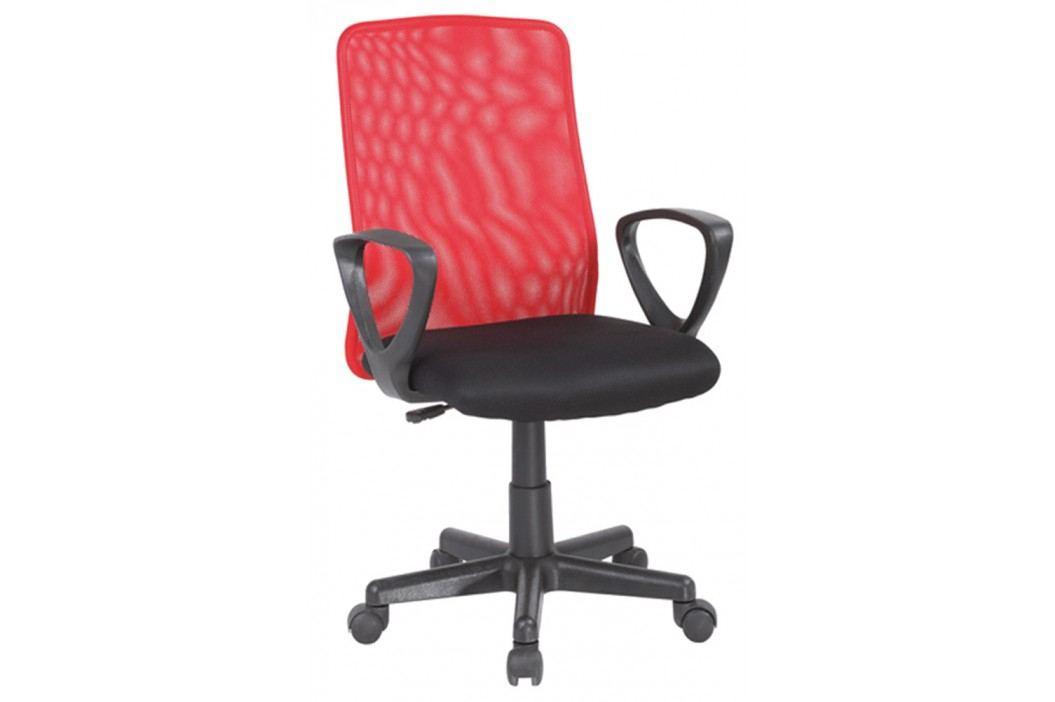 Kancelářska židle - Signal - Q-083 červená + černá