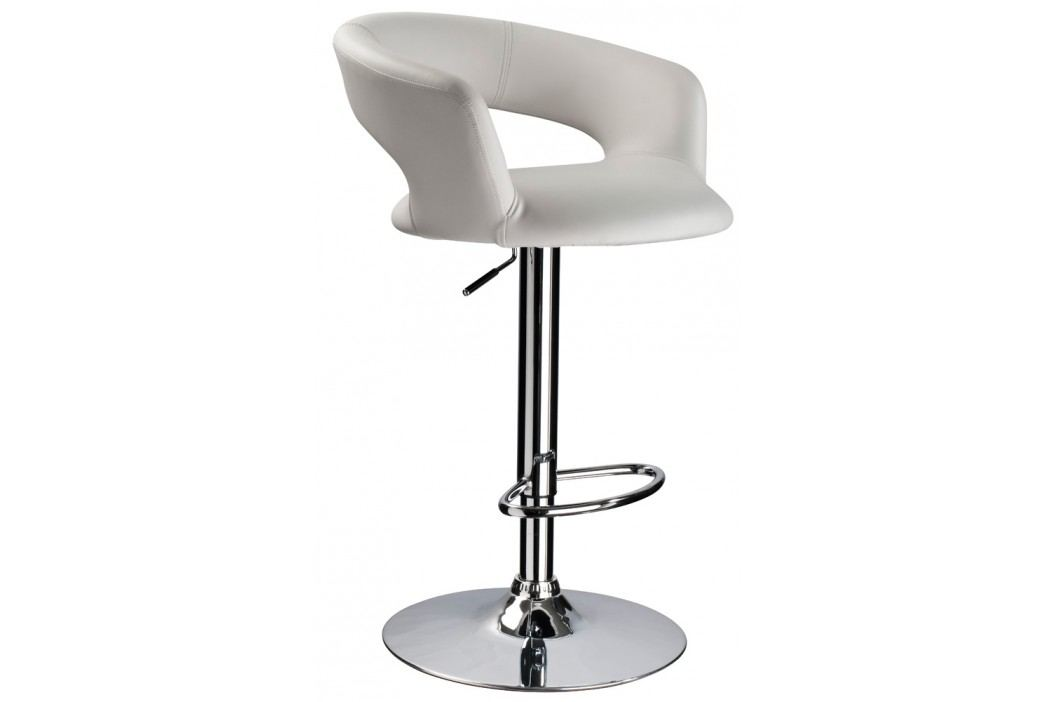 Barová židle - Signal - C-328 Krokus bílá