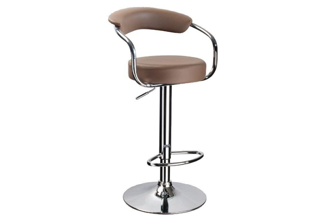 Barová židle - Signal - C-231 Krokus tmavě béžová