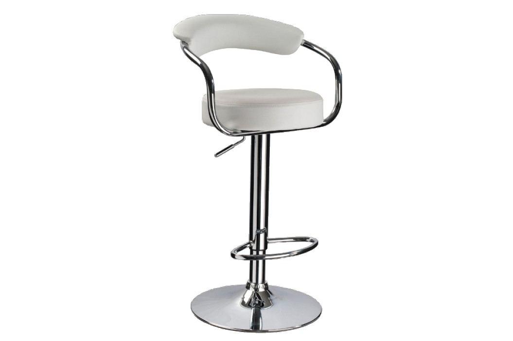 Barová židle - Signal - C-231 Krokus bílá