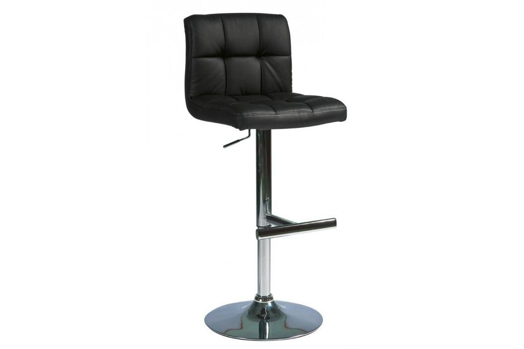Barová židle - Signal - C-105 Krokus černá