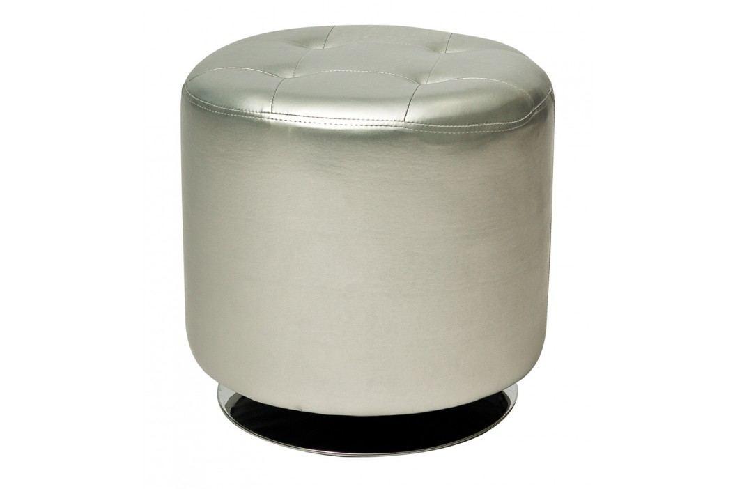 Taburet - Signal - C-901 stříbrná