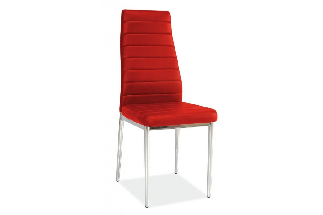 Jídelní židle - Signal - H-261 červená
