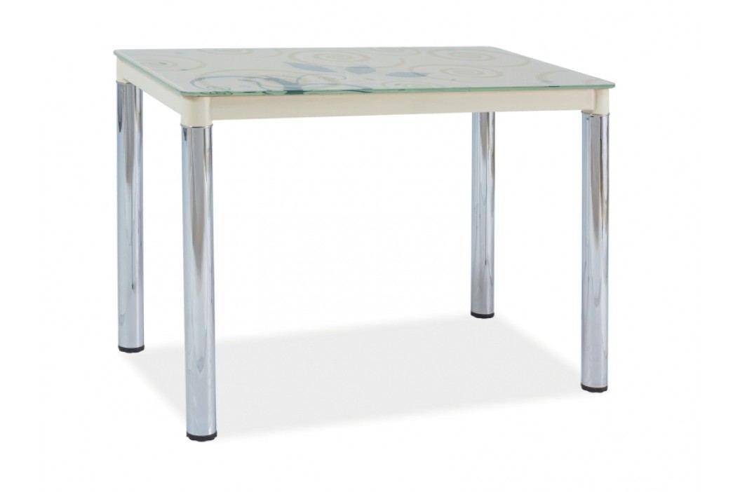 Jídelní stůl - Signal - Damar II (krém) (pro 4 osoby)