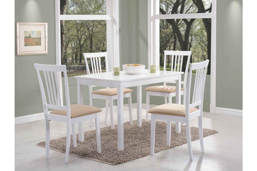 Jídelní stůl - Signal - Fiord (bílá) (pro 4 osoby)