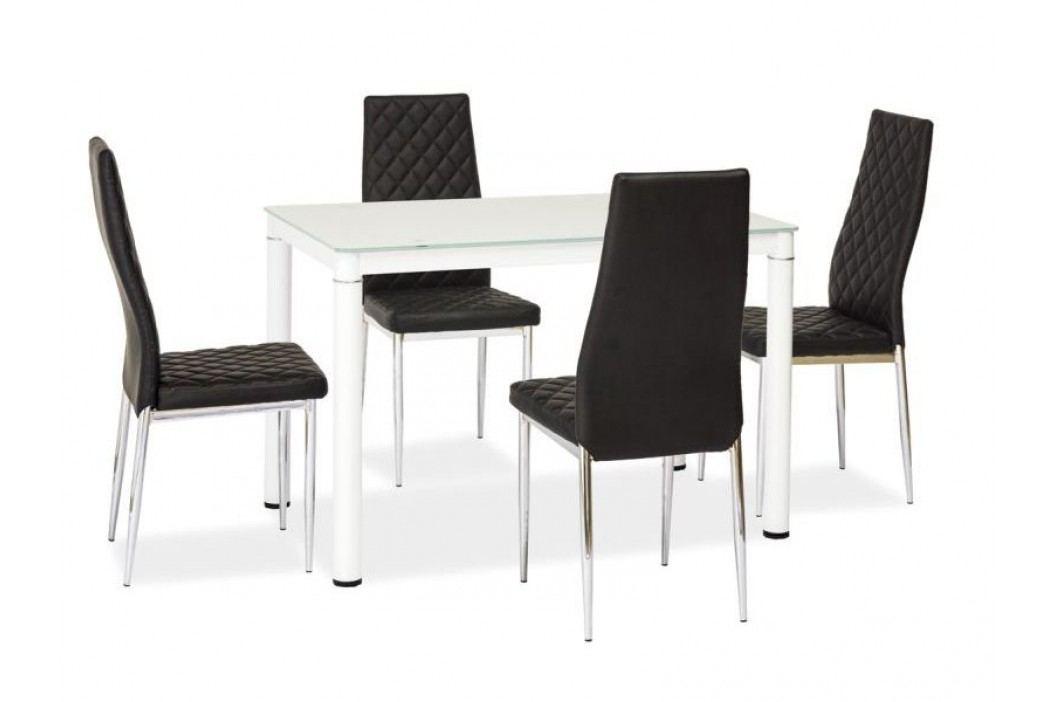 Jídelní stůl - Signal - Galant (bílá) (pro 4 osoby)