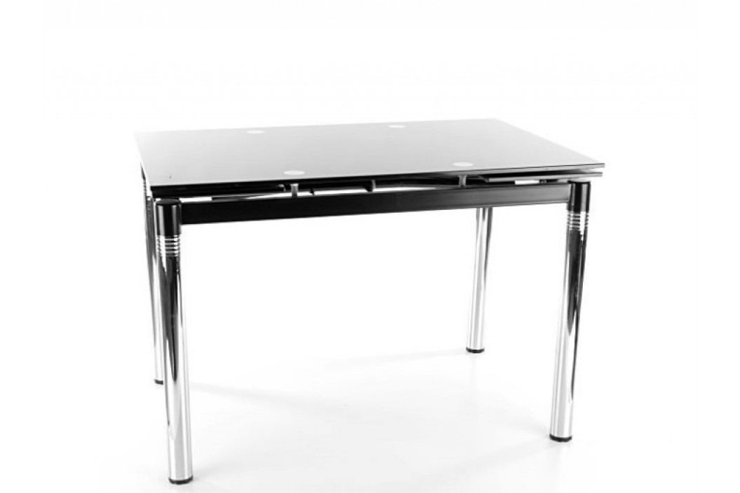 Jídelní stůl - Signal - GD-018 (černá) (pro 4 až 6 osob)