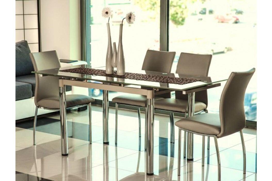 Jídelní stůl - Signal - GD-018 (tmavě béžová) (pro 4 až 6 osob)