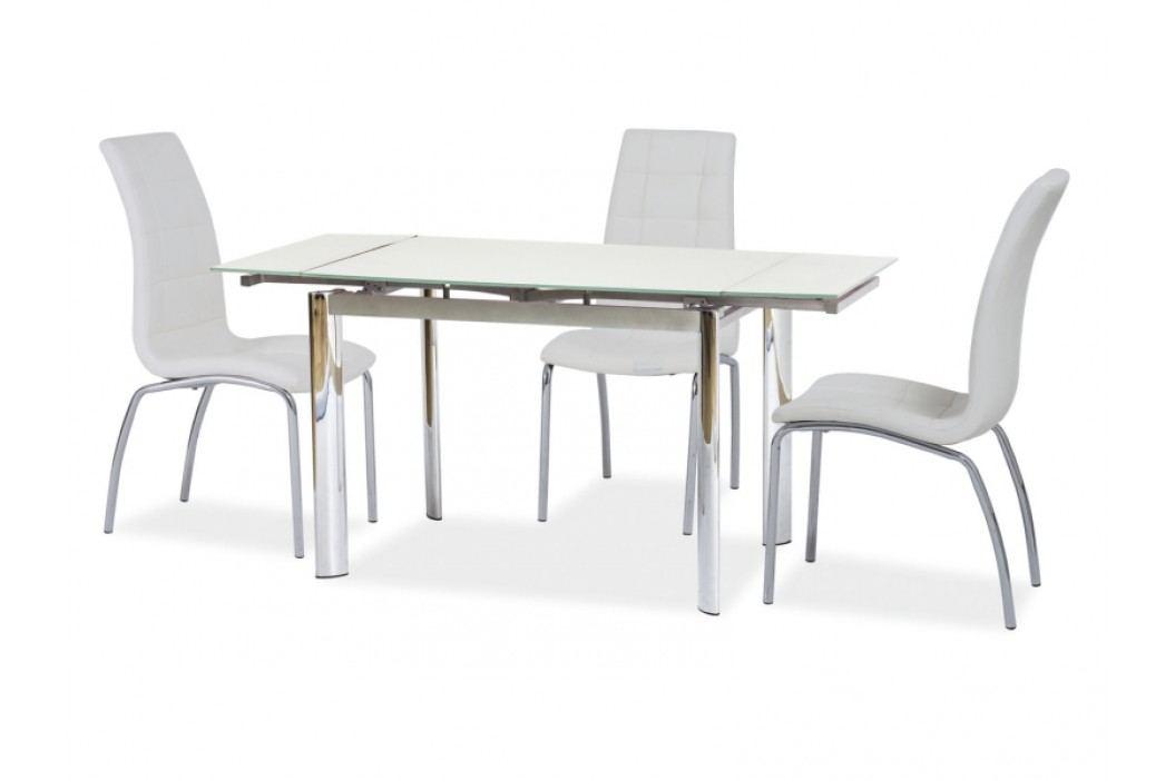 Jídelní stůl - Signal - GD-019 (bíla) (pro 4 až 6 osob)